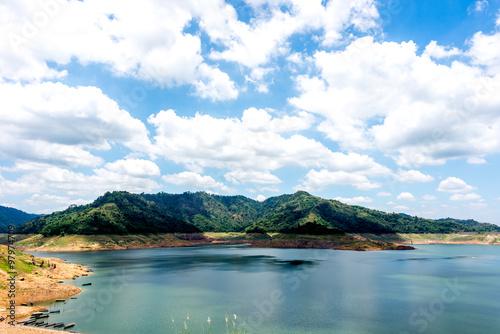 Nakhon Nayok ( Khun Dan Prakan Chon Dam) Thailand 2015. #97974709