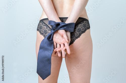 Photo  Sexy Woman in Bondage