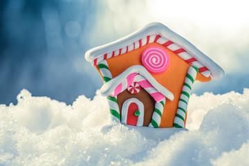 Christmas decorative house