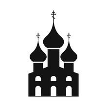 Russian Orthodox Church Simple Icon