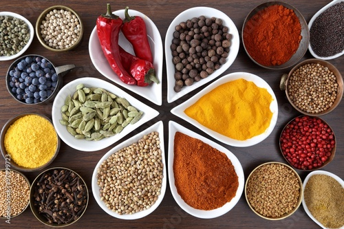 Aromatic spices. - 97999723