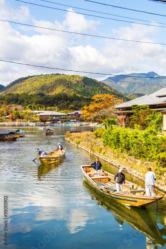 Papiers peints Kyoto Arashiyama Kyoto japan Hozu-gawa River
