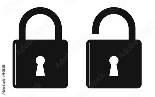 Photographie  padlock icon