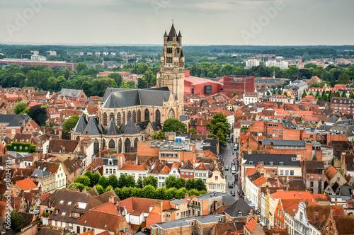 In de dag Brugge Bruges, Brugge, Belgium
