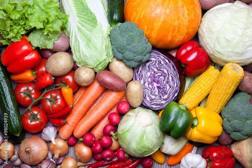 Fresh vegetables. - 98024939
