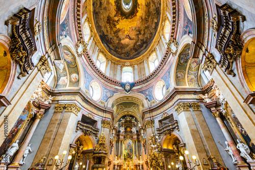 Stephansdom, Vienna, Austria Billede på lærred