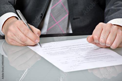 Fotografía  Umowy Podpisywanie