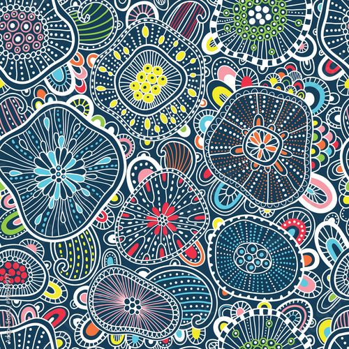 Abstract colorful seamless pattern