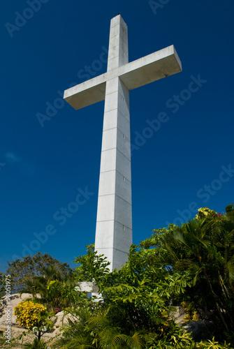 Fotografija  Giant cross in Acapulco