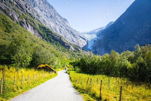 Fotografia  Eternal glaciers and mountains .