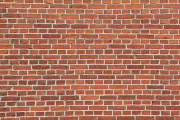 rote Ziegelsteinmauer