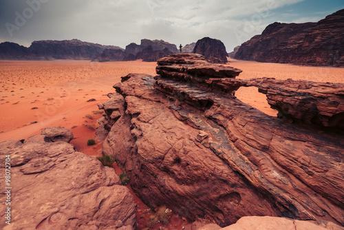 Photo  Wadi Rum desert, Jordan.
