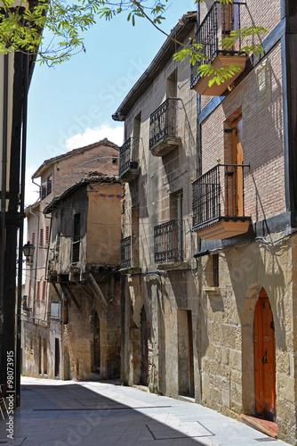 Alte Gasse in Haro Rioja