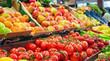 Gemüse und Obst - Bauernmarkt