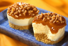 Two Home Made Toffee Cheesecak...