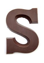 Chocolate Letter S For Sinterk...