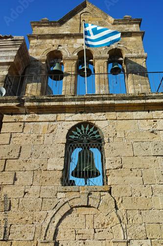 Poster Tunesië Agios Nikolaos church in Zakynthos City, Greece