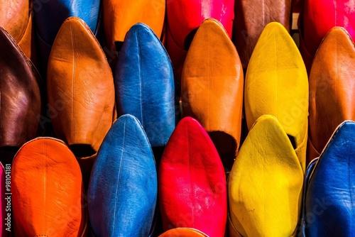 Papiers peints Maroc various moroccan leather shoes