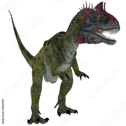 cryolophosaurus-on-white-cryolophosaurus-byl-dinozaurem-teropodem-ktory-zyl-na-antarktydzie-w-okresie-jurajskim