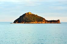 Island Gallinara, Liguria, Italy