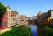 Girona in sunny day. Catalonia