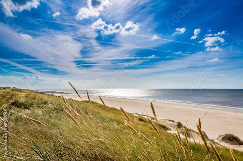 Spoed Foto op Canvas Noordzee North Sea view