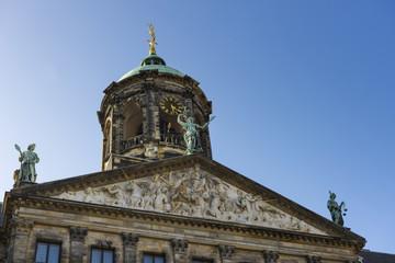 Fototapeta na wymiar Königspalast in Amsterdam - Holland