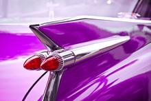 Pink Cadillac Heckflosse
