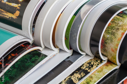 Fotografía  Stack of magazines