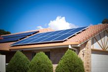Solar Panels On The Roof, Aust...