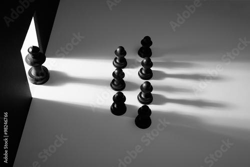 Photo  chess meeting