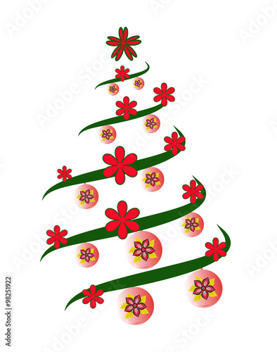 Albero Di Natale Stilizzato.A Stylized Christmas Tree Vector Albero Di Natale Stilizzato Vettoriale Buy This Stock Vector And Explore Similar Vectors At Adobe Stock Adobe Stock