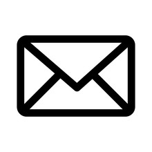 Message Envelope Line Art Icon For Apps And Websites