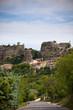 Saignon village view in Provence, France.