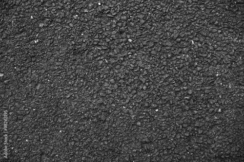 Fotografia  Dark solid asphalt.