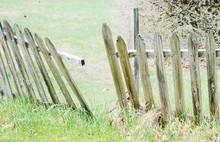 Broken Fence Wood