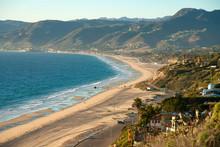 Beautiful View On Point Dume Beach Malibu