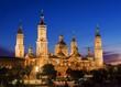 Cathedral in Zaragoza, Spain