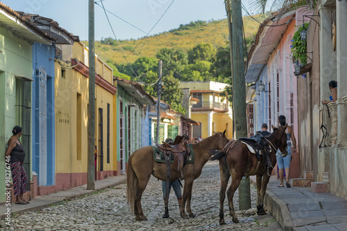 Photo Trinidad Cuba Pferde