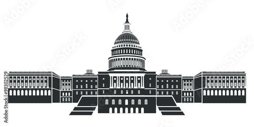 Fotografia, Obraz  Capitol building