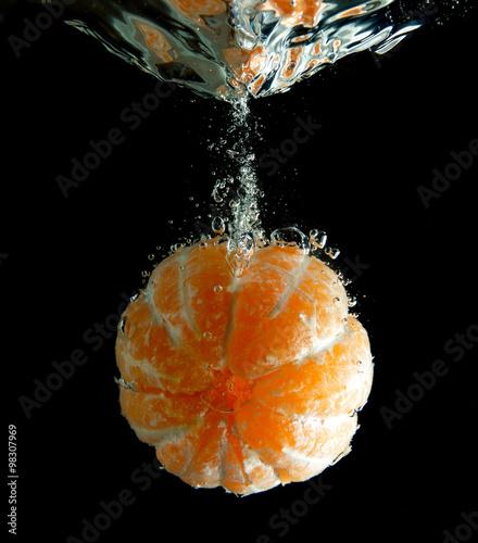Poster Fruit tangerine