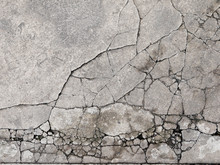 Cracked Concrete Texture Close...