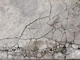 fototapeta popękany beton zbliżenie tekstury tła
