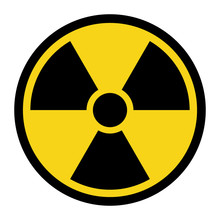 Radiation Hazard Sign. Symbol ...