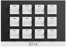 CALENDARIO 2016 ITA