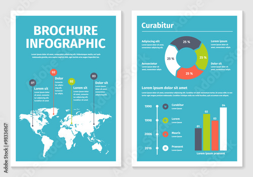 Modern Business Infographic Brochure Template 1 Buy This Stock