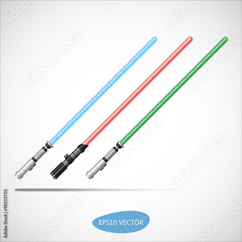 Photo  Light Saber - Futuristic Energy Weapon