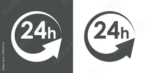 Valokuva  Icono plano 24h #1