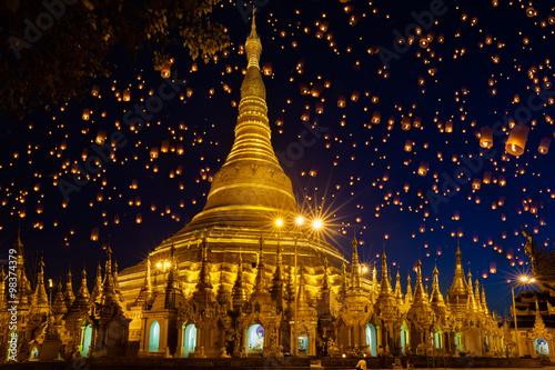 Tablou Canvas Shwedagon pagoda