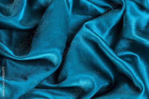 turquoise silk texture